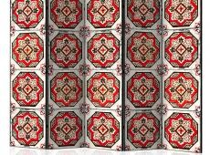 Paraván - Dance of Red Line II [Room Dividers]